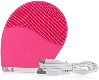Electric Face Cleanser Vibrate, Waterproof Silicone Brush Massager Facial Skin Care