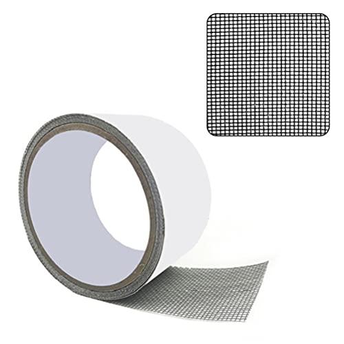 Cinta de reparación de pantalla de ventana, parches de mosquitero, adhesivo fuerte de fibra de vidrio, reparación de malla de alambre para ventanas y puertas, evitar mosquitos y insectos