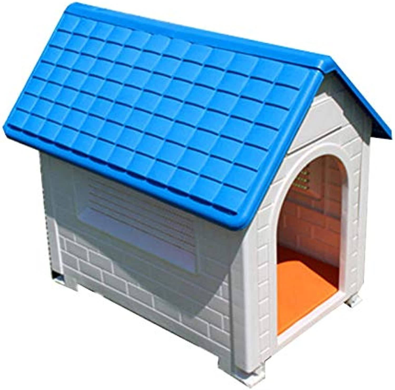 Dog House Small to Medium pet AllWeather Dog House Puppy shelter Indoor and Outdoor Washable Breathable Waterproof pet Cover (color   bluee)