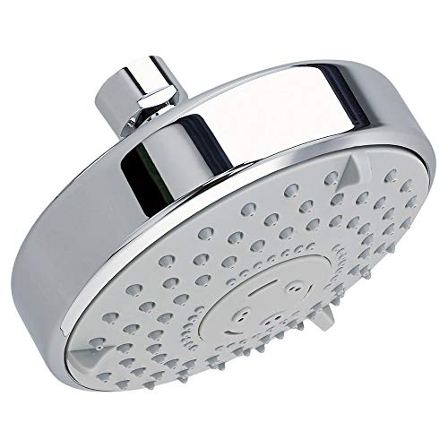American Standard 1660.652.002 Water Saving 3-Function Rain Showerhead, Polished Chrome