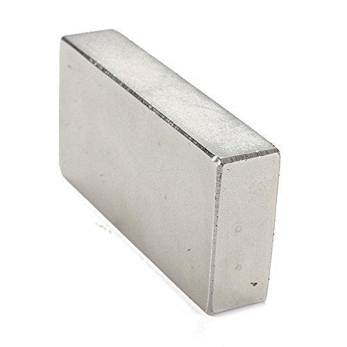 AOMAG® Fuerte de Tierras Raras de neodimio N52 Barra de Bloques imán 50 x 25 x 10 mm