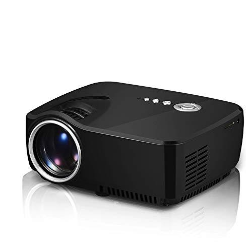 GWX MiniLED Hd 1080p-projector, geïntegreerde 120 inch stereoluidsprekers met SRS-geluid, multi-uitbreidingsinterface, dubbele Hdmi-standaard