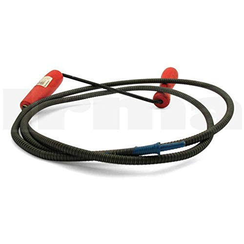 Rohrreinigungsspirale 10mm / 2m - Abflussschnecke, Schwerlast Abflussreinigungsspirale