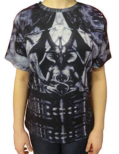 Camiseta Feminina Baphomet - Tamanho: P