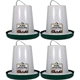 Harris Farms 1000297 Free Range Hanging Poultry Feeder |Prevents Chickens from Scratching Out Feed|, 7 Pounds, Pack of 4
