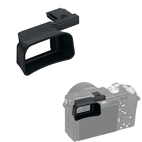 Kiwifotos Soft Silicone Extended Eyecup Eye Cup Eyepiece for Sony A7C A7 C Camera