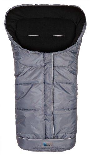 Altabebe AL2203 - 40 Winterfußsack, dunkelgrau/schwarz