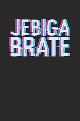 Jebiga Brate: Monatsplaner I Familienplaner I Planer Din A5 120 Seiten I 2020 I Wochenplaner I Checkliste I Notizen I Taschenkalender 2020 I ... Planen Notieren I Jugo Jugoslawien