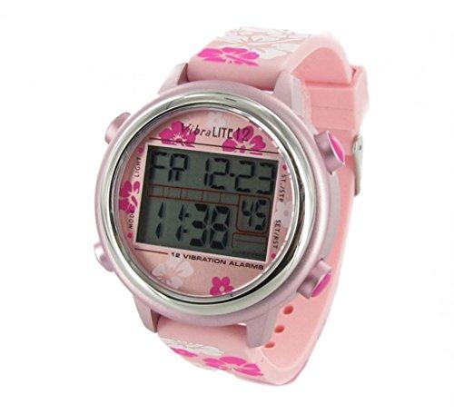 VibraLITE vl12spf–Armbanduhr, Armband aus Kunststoff
