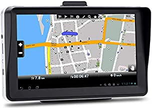 7 inch 8GB Navigation System for Cars, Car GPS Spoken Turn- to-Turn Vehicle GPS Navigator, Lifetime Map Updates