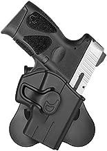 OWB Paddle Holsters for Taurus G2C Taurus Millennium PT111 G2 G3 G3C PT132 PT138 PT140, 360 ° Adjustable Outside Waistband Pistol Holster Trigger Release - Right Hand