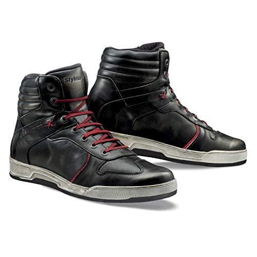 Stylmartin Unisex Iron Riding - Sneakers, Schwarz (NERO/BLACK), 44 EU