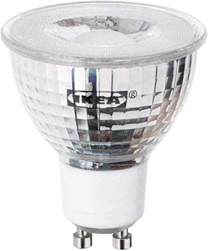 IKEA TRADFRI (Zigbee) GU10 400 Lumen Dimmable Smart LED Bulb (2700K), 604.200.41