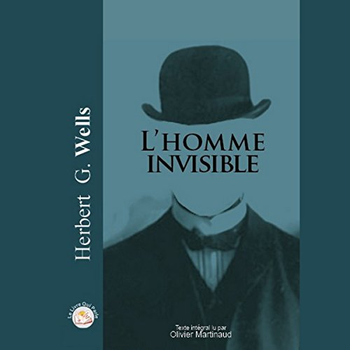 L'homme invisible audiobook cover art