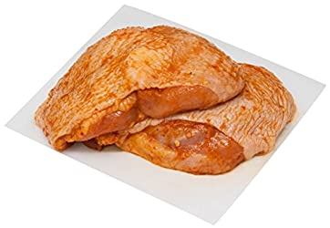 ZAC Butchery Fresh Chicken Thigh Peri-Peri-marinated, 500g (Halal) - Chilled