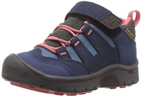 KEEN Hikeport Waterproof Junior Hiking Schuh - SS18, Dress Blues/Sugar Coral Toddler, 30 EU