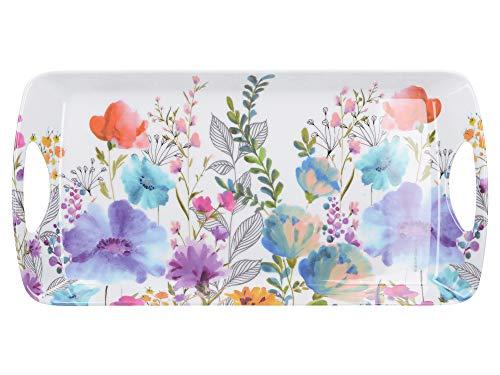 Creative Tops Petit plateau de service 'Meadow Floral' mélamine, multicolore - C000334