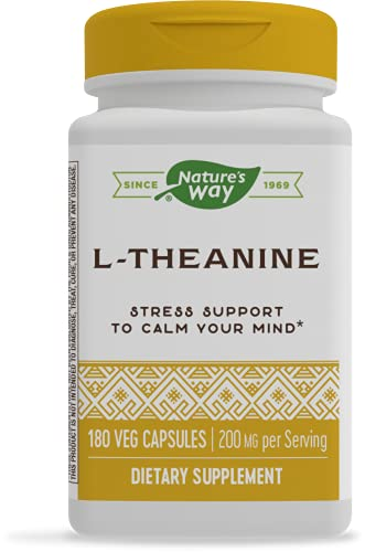 Nature's Way L-Theanine, Suntheanine Brand,...