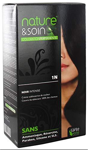 Santé Verte Nature et Soin Coloration Permanente - 1N Noir Intense