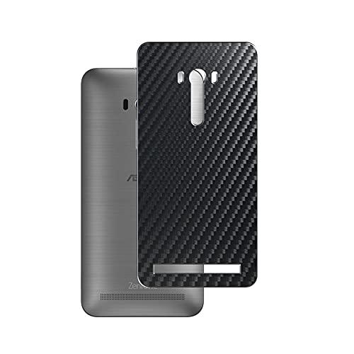 VacFun 2 Pezzi Pellicola Protettiva Posteriore - Nero, compatibile con ASUS ZenFone Selfie ZD551KL Skin Peau (Non Vetro Temperato Protezioni Schermo Cover Custodia) Back Film Protettivo