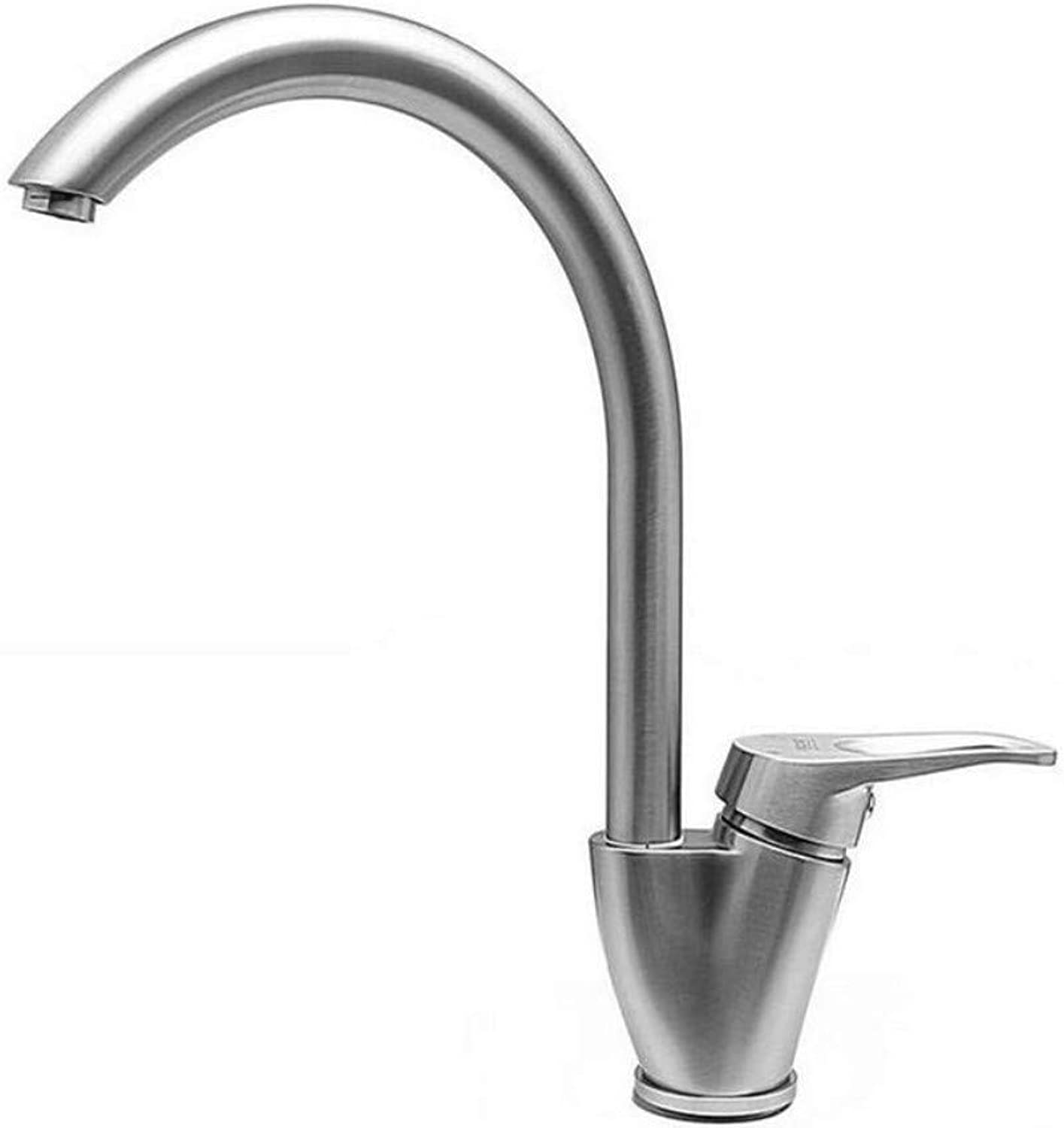 Taps Kitchen Sink Stainless Steel Casting Swivel Bathroom Lavatory Basin Vessel Kitchen Sink Mixer Tap