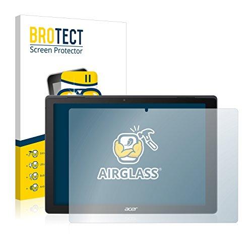 BROTECT Panzerglas Schutzfolie kompatibel mit Acer Switch 5 - AirGlass, 9H Festigkeit, Anti-Fingerprint, HD-Clear