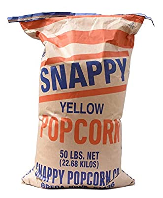 Snappy Yellow Popcorn Kernels