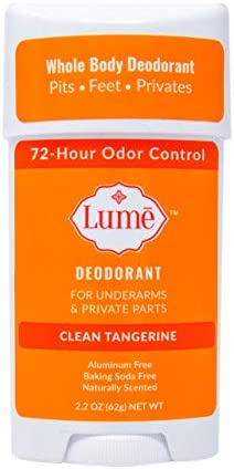 Lume Natural Deodorant Underarms and Private Parts Aluminum Free Baking Soda Free Hypoallergenic product image