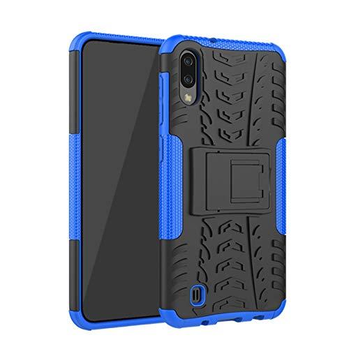 betterfon   Samsung Galaxy A10 hülle Outdoor Handy Tasche Hybrid Hülle Schutz Panzer TPU Silikon Hard Cover Bumper für Galaxy A10 SM-A105 Blau