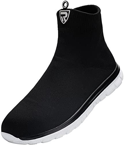 LARNMERN Zapatos de Seguridad Hombre Mujer Zapatillas de Seg