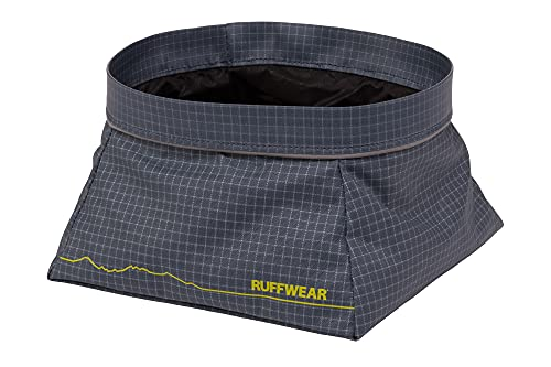 RUFFWEAR Comedero para Perros Ligero y Plegable, Cuenco para Agua y Comida,...