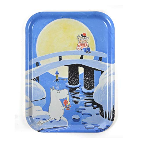 Key-Ring Stinky Porte-cl/és Les Moumines LOGOSHIRT Design original sous licence Moomins color/é