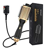 Hot Air Brush - Professional Hair Dryer Brush and Volumizer Blow Dryer 4 in 1 Ionic Technology,...
