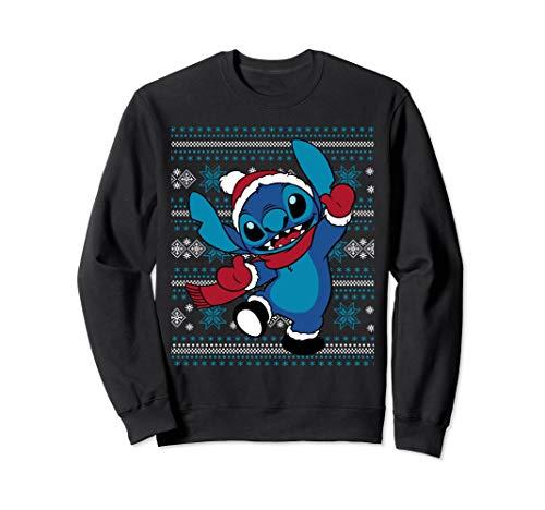 Disney Stitch Happy Holiday Sweatshirt