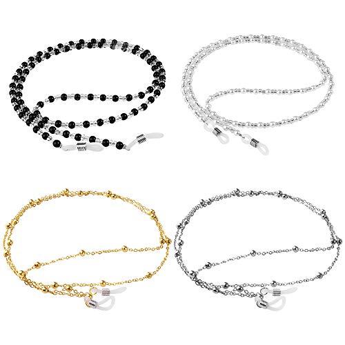 ONESING 4 Pcs Eyeglass Chains for Women Eyeglasses String Holder Glasses Strap Eyewear Chain Glasses...