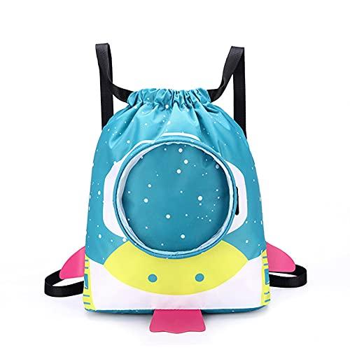 fuaensm Wasserdichter Schwimm-Rucksack für Kinder, Jungen, Mädchen, verstellbar, Sport, Trocken, Nass, Schultasche für Outdoor, Pool, Strand
