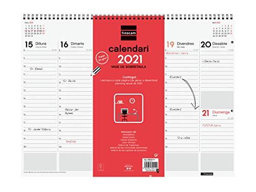 Finocam - Vade 2021 Semana vista vertical Espiral Catalán