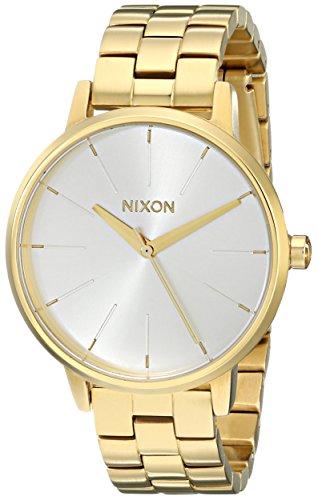 Nixon Damen-Armbanduhr Kensington Analog Quarz Edelstahl A099508-00