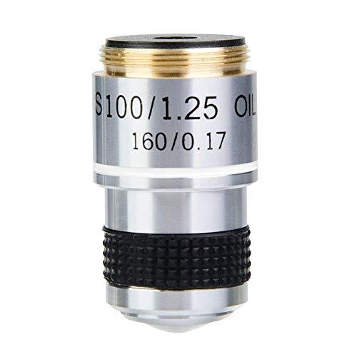 DM WJ005 100X 185 Biologisches Mikroskop Achromatische Objektive Linse 160/0.17
