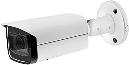 6MP IP PoE Security Bullet Camera IPC-HFW4631H-ZSA Motorized Zoom 2.7~13.5mm VF Lens 5X Optical Zoom Outdoor Camera,Built-in Audio,SD Card Slot,IR 80m Night Vision H.265,ONVIF,IP67 Waterproof