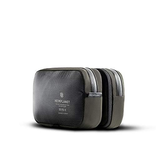 Heimplanet Original | Motion Dopp Kit - Hanging Toiletry Bag | Pvc-Free Travel Wash Bag