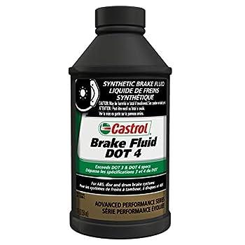 Castrol 12509-12PK DOT-4 Brake Fluid - 12 oz  Pack of 12