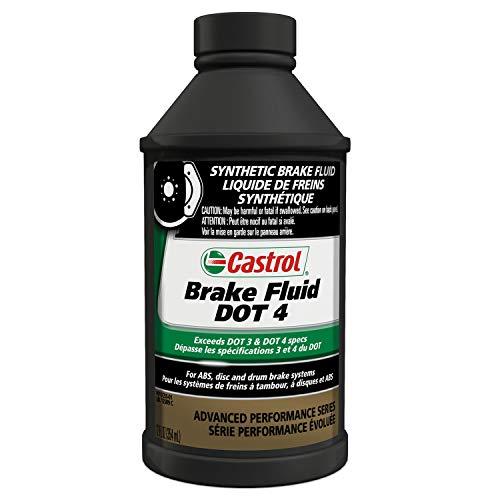 Castrol 12509-12PK DOT-4 Brake Fluid - 12 oz.,...