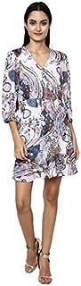 altmoda Women's Printed Midi Dress