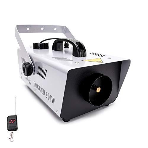 Nebelmaschine, MORFIT 900W Rauchmaschine mit 5000CFM Nebel, kabelgebundene und drahtlose ferngesteuerte Nebelmaschine für Halloween-Hochzeitsfeier und Bühneneffekt