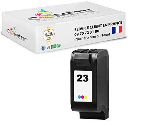 COMETE 23 1 Cartucho compatible con HP 23 Color Tinta Compatible para HP DeskJet OfficeJet Pro OfficeJet R OfficeJet T PSC