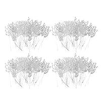 #N/A クリスタルアクリルビーズドロップ15cmホワイトの200x造花ブーケ