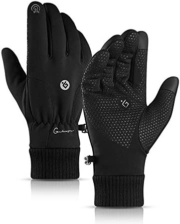 Winter Gloves for Men and Women Touch Screen Gloves Waterproof Anti Slip Silicone Thermal Gloves product image
