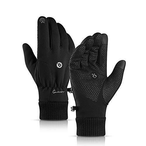 A.docarple Handschuhe Herren Damen Fahrradhandschuhe Männer Touchscreen Handschuhe rutschfest Roller Handschuhe Damen Outdoor Laufhandschuhe Winter zum Wandern Bergsteigen Radfahren