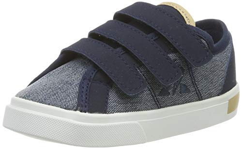 Le Coq Sportif Unisex-Kinder Verdon INF Denim Sneaker, Blau (Dress Blue Dress Blue), 22 EU